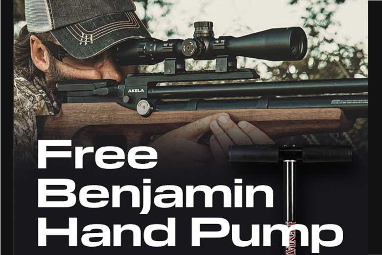 Free Benjamin Hand Pump Offer